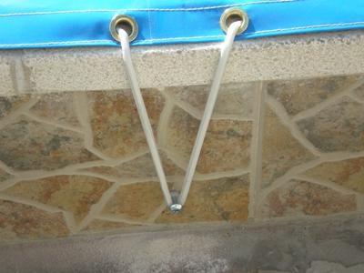 Toldos antonio tapa de piscina for Anclajes para toldos