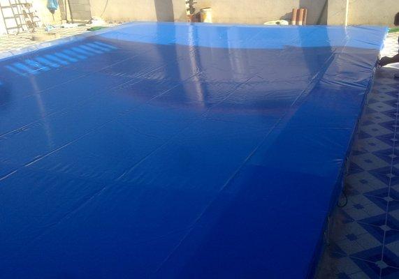 Toldos antonio tapa de piscina for Tapa depuradora piscina