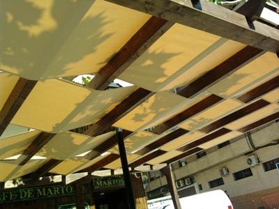 Toldos antonio trabajos personalizados - Tipos de toldos para patios ...